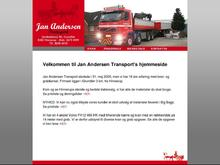 JAN ANDERSEN TRANSPORT ApS